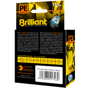 Плетеный шнур PE Ultra Brilliant Stoic Ultra Yellow