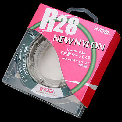 Лескa RYОBI R28 NEW NYLON 150m 0,165mm gray-03