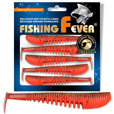 Риппер AQUA FishingFever COMB 7сm, цвет WH10 (5шт)